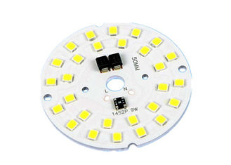 China PWB revestido de aluminio modificado para requisitos particulares del cobre 2oz, PWB de SMD LED con forma redonda fábrica